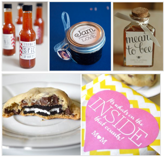 Wedding Favors Food: Eat, Lift & Be Married