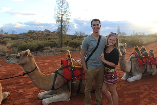 Camel Ride at Uluru