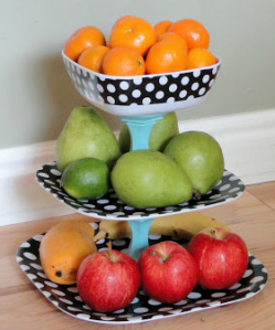 DIY fruit stand