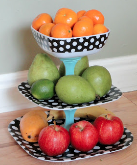 DIY fruit stand