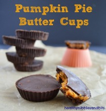 Pumpkin is my favorite Season: pumpkin pie butter cups