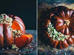 Pumpkin is my favorite Season: stuffed pumpkin