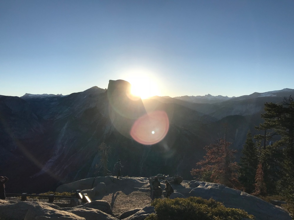 Sunrise at Glacier Point