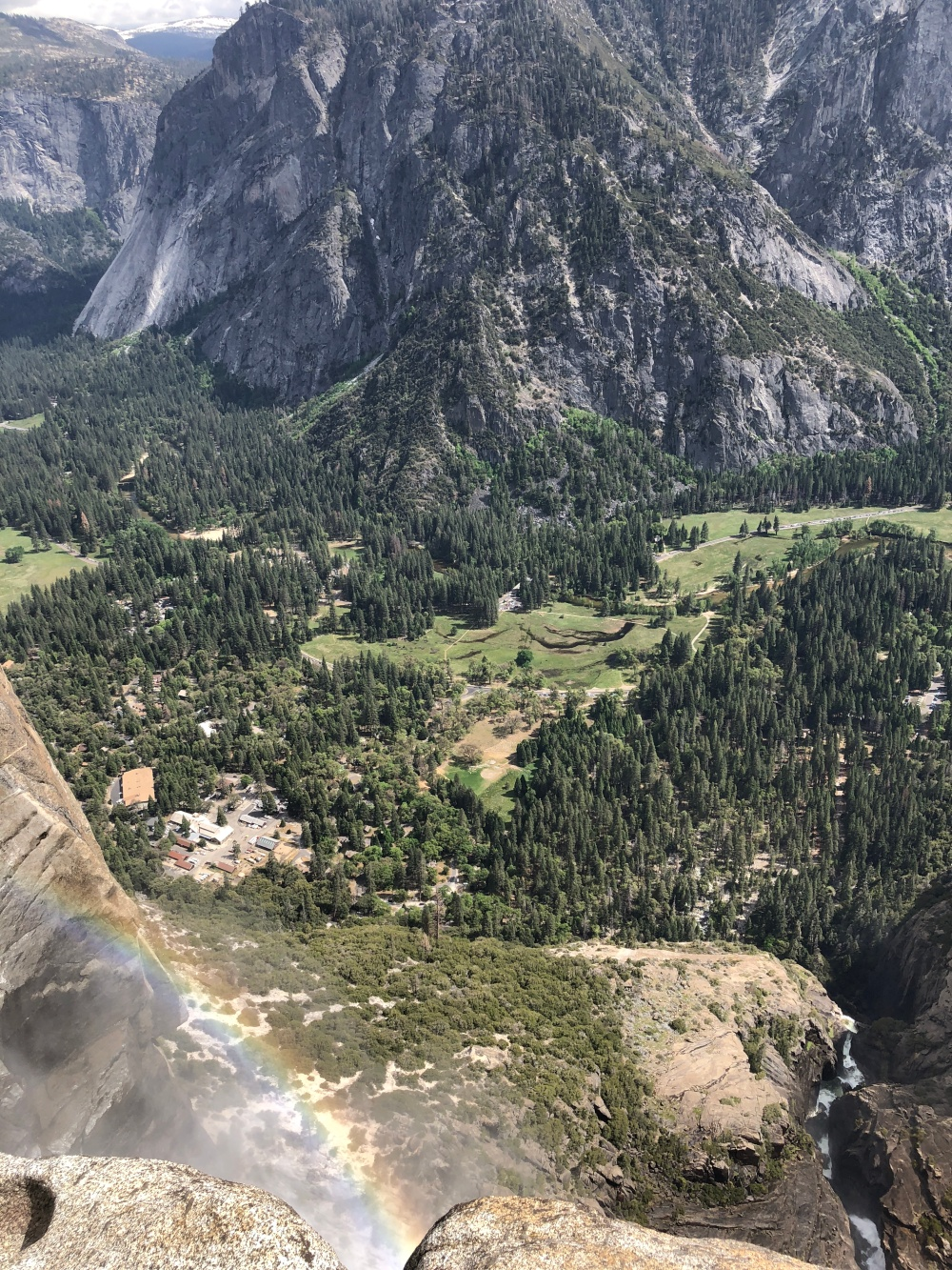 View from the top of Upper Yosemite Falls