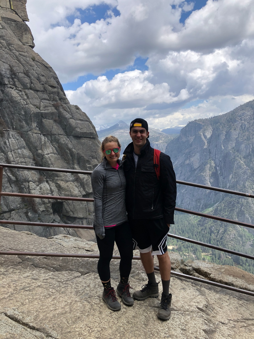 Top of Upper Yosemite Falls